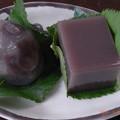 Photos: 葛桜と水羊羹