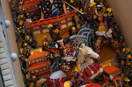 04 2014年 博多祇園山笠 飾り山笠 奮戦本能寺と舁き山 猩々酒宴壽 中洲流 (10)