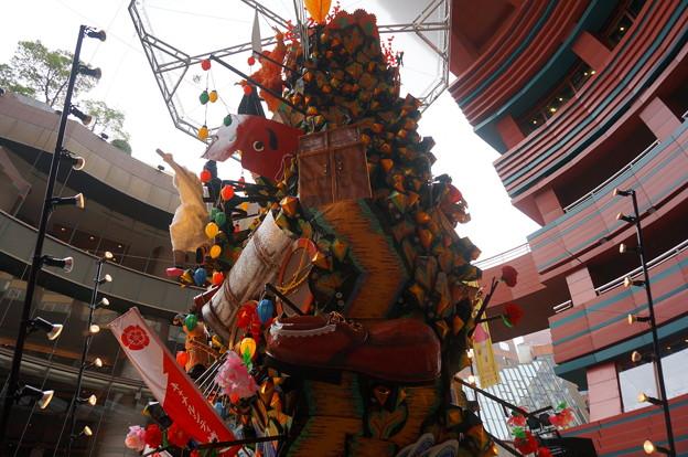 12 2014年 博多祇園山笠 飾り山笠 キャッツ博多へ(きゃっつはかたへ) (23)
