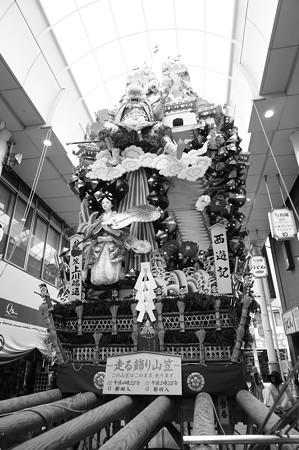 博多祇園山笠 2016年 飾り山笠 八番山笠 上川端通 西遊記 (1)