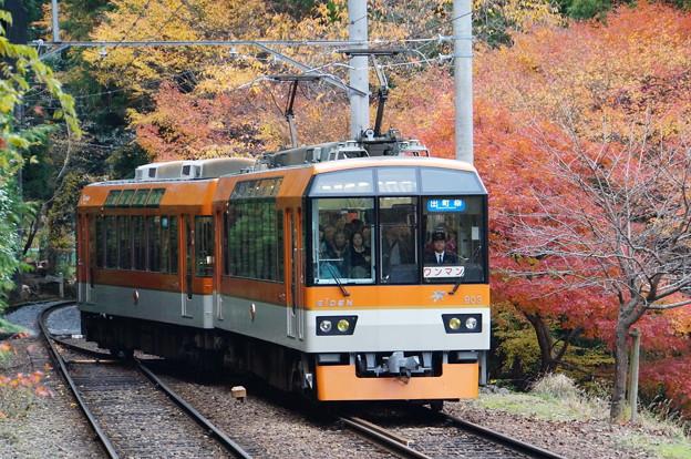 二ノ瀬駅の紅葉_11