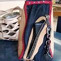 写真: 手作りのかばん