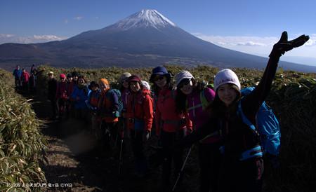 山の天気 竜ヶ岳 山頂間近