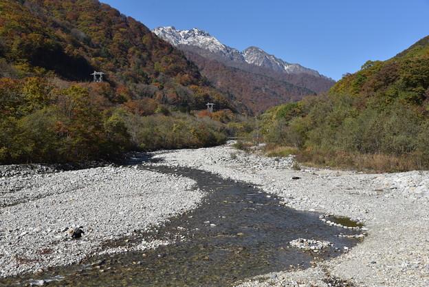 谷川岳と湯檜曽川