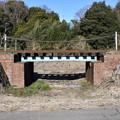 レンガの鉄橋