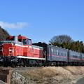 真岡鐵道 SL列車回送 (DE101535)