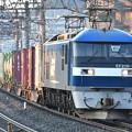 写真: 貨物列車 (EF210-18)