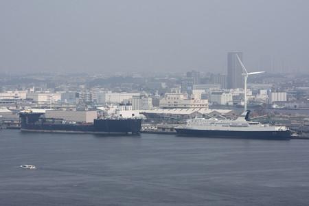 マリンタワーより横浜港を望む -4