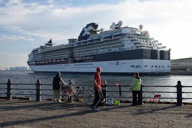 今年最後の外国客船横浜に入港