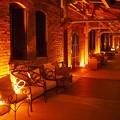 写真: 平日夜の赤レンガ倉庫