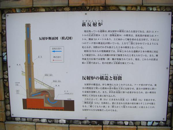 萩反射炉の能書き