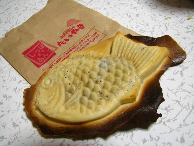 写真: 木村屋の鯛焼き