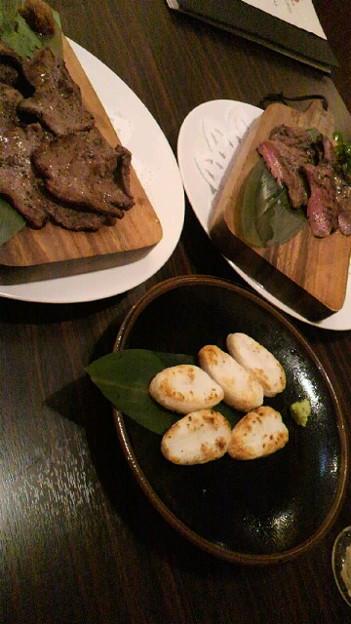 写真: コルステ終わったあとだし、至誠館だしってことで牛タンと笹かま食べ...