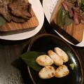 コルステ終わったあとだし、至誠館だしってことで牛タンと笹かま食べ...