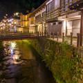 Photos: 銀山川に映る