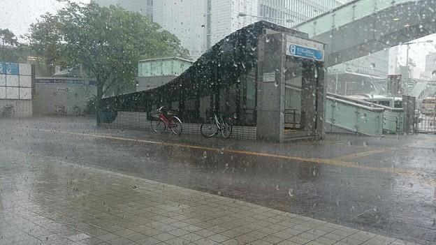 一時すごい雨でどうなるかと思ったけど、27分遅れで出発。名古屋に向けてフォールド…じゃなくて、各停こだまの旅 (*_*;