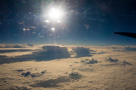 雲海が広がっております。