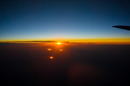 日が沈んでいく〜