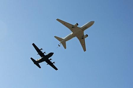 KC-767 C-130H 空中給油デモ IMG_9279_2