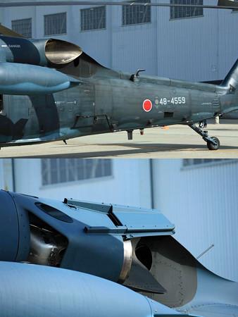 UH-60J 新旧比較してみた?IRサプレッサー IMG_2993+2996jpg