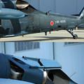 Photos: UH-60J 新旧比較してみた?IRサプレッサー IMG_2993+2996jpg