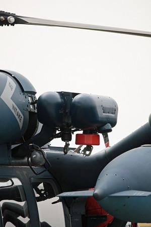 UH-60J改修型 2重化された救助ホイストのアップ IMG_3391_2