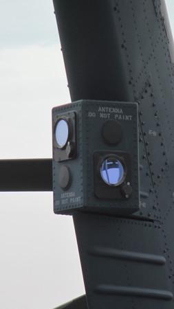 UH-60J改修型 ミサイル警報装置 J/APR-7 IMG_0714