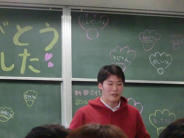 Photos: 最後はキャプテン晋平さん