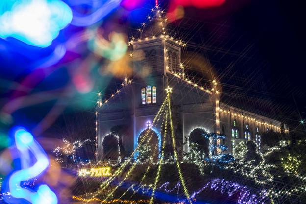 Photos: 天主堂より Merry Christmas