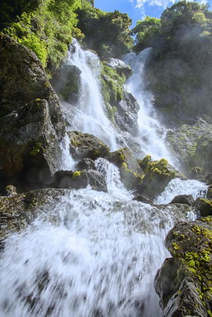 写真: 走水の滝