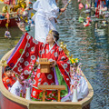 写真: 柳川の春