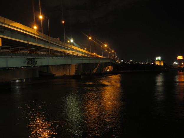 夜の博多港  2