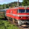 Photos: 9015レ EH800 1+E26系 12両