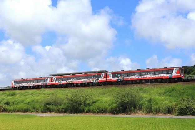 Photos: 913D 鹿島臨海鉄道6000形6006+6018+6011