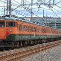 Photos: 配9734レ EF64 1030+115系高タカT1144+T1145編成 8両