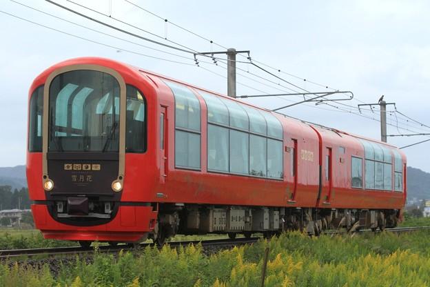 回8354D えちごトキめき鉄道ET122形 ET122-1001+ET122-1002