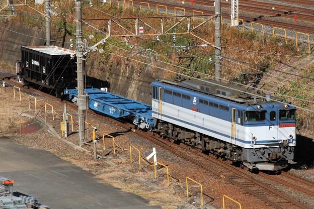 配6794レ EF65 2076+コキ+ホキ