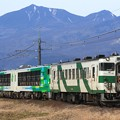 9838D キハ40-1002+キハ48形仙ココ「びゅうコースター風っこ」編成+キハ40-1001 4両