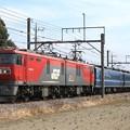 Photos: 9771レ(遅延) EH500 35+14系 4両