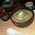写真: シシ蕎麦汁