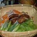 写真: シャブ用野菜