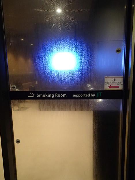 写真: 喫煙室