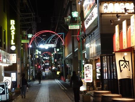夜の野毛 (横浜市中区野毛町)