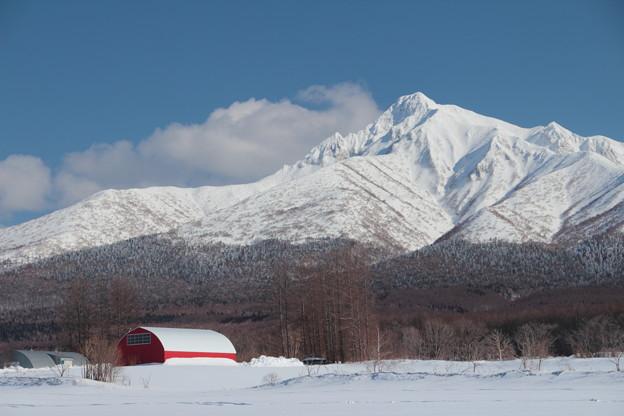 斜里岳Now20170326