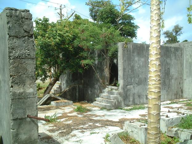 戦跡 サイパン島1