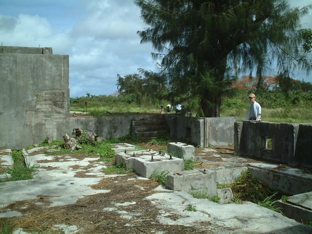 戦跡 サイパン島3