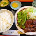 焼肉ハウス モンモン ランチ 牛焼肉定食 広島市南区上東雲町