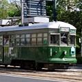 Photos: 広島電鉄 570形 582号 広島市南区的場町2丁目 比治山通り
