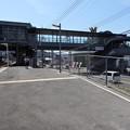 写真: JR矢野駅 自由通路 国道31号 広島市安芸区矢野西1丁目