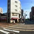 天満町電停交差点 広島市西区観音町